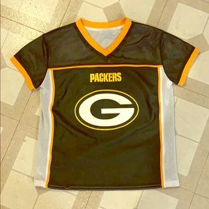 Reversible Packers flag football jersey